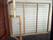 Продам деревянное окно под стеклопакеты